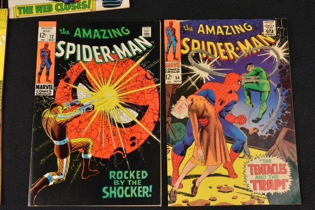 (6) Amazing Spider-Man Marvel Comics Silver Age - 4