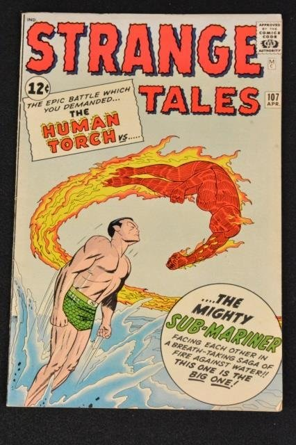 Strange Tales Marvel Comics No. 107 Silver Age