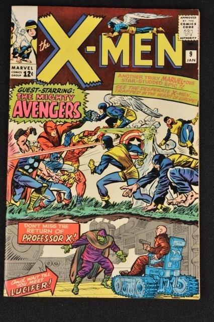 Uncanny X-Men No. 9 Marvel Comics (1st Lucifer)