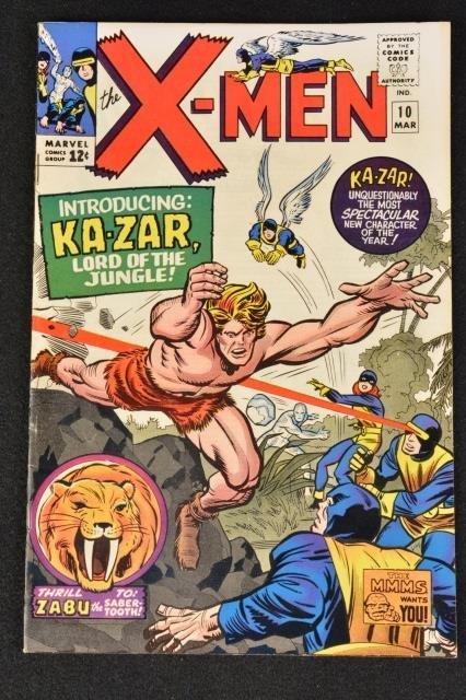 Uncanny X-Men No. 10 Marvel Comics Silver Age