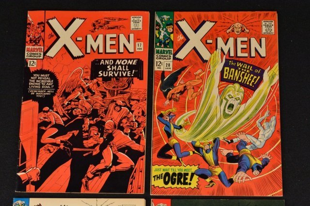 (4) X-Men Uncanny Marvel Comics Silver Age - 2