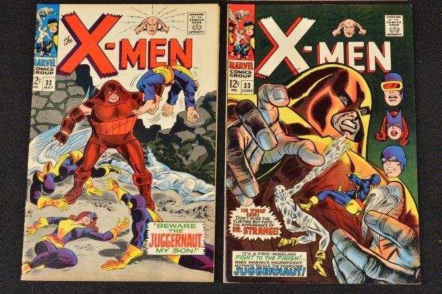 (4) X-Men Uncanny Marvel Comics Silver Age - 3
