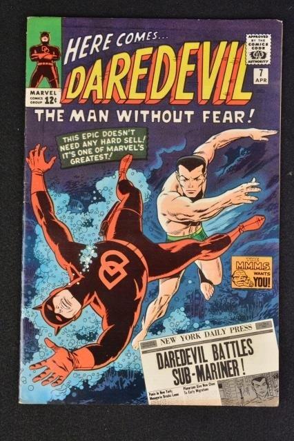 Daredevil No. 7 Marvel Comics Silver Age