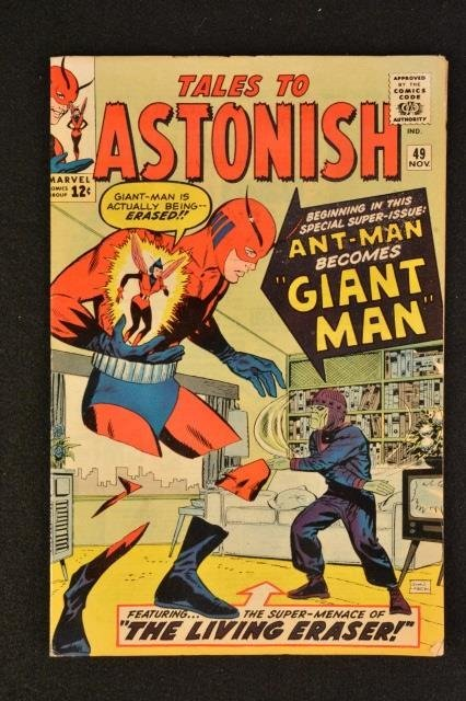 Tales To Astonish No. 49 Marvel Comics Silver Age