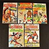 (5) Tales To Astonish Marvel Comics Silver Age