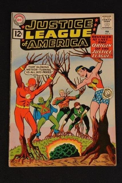 Justice League of America No. 9 DC Comics