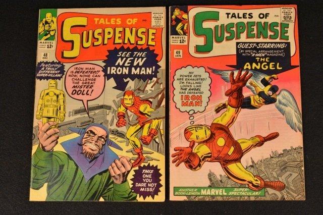(2) Tales of Suspense No. 48 & 49 Marvel Comics