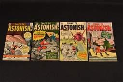 (4) Tales To Astonish Marvel Comics Silver Age