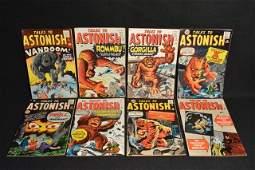 (8) Tales To Astonish Marvel Comics Silver Age