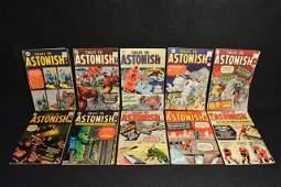 (10) Tales To Astonish Marvel Comics Silver Age