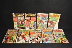 (9) Tales To Astonish Marvel Comics Silver Age
