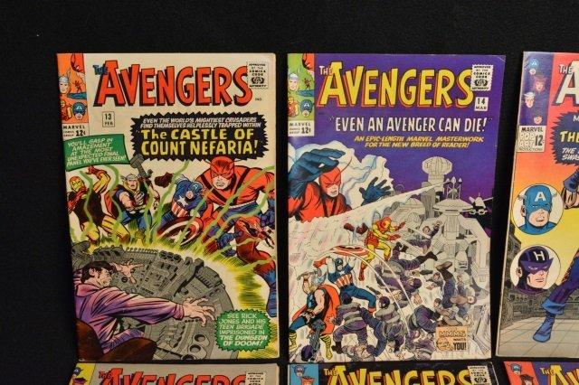 (10) Avengers Marvel Comics Silver Age - 2