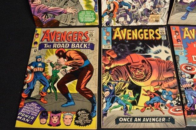 (10) Avengers Marvel Comics Silver Age - 4