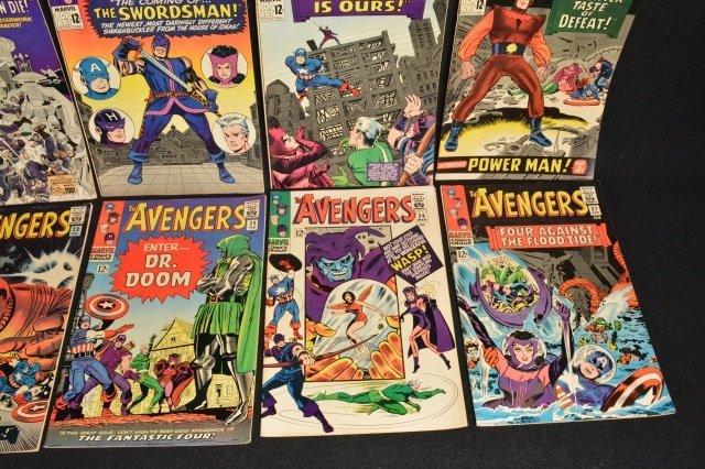 (10) Avengers Marvel Comics Silver Age - 5