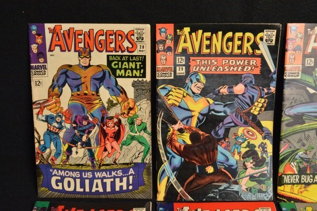 (10) Avengers Marvel Comics Silver Age - 2