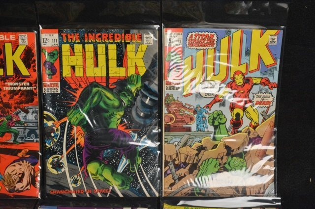 (17) Incredible Hulk Marvel Comic Books - 3