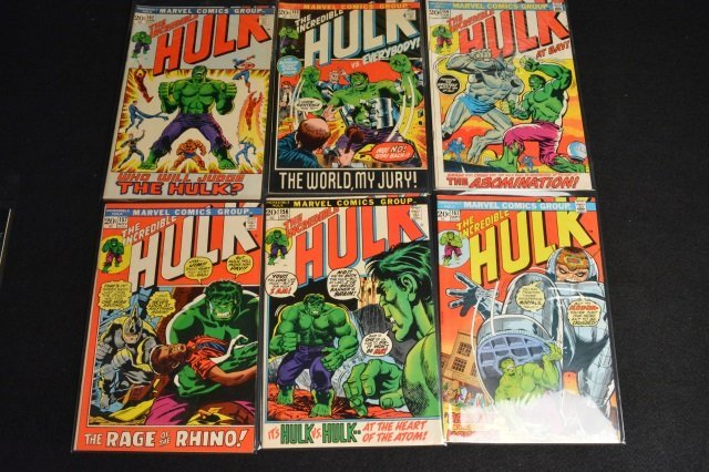 (17) Incredible Hulk Marvel Comic Books - 6