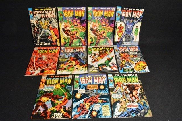 (11) Invincible Iron Man Marvel Comics