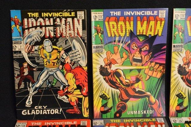 (11) Invincible Iron Man Marvel Comics - 2