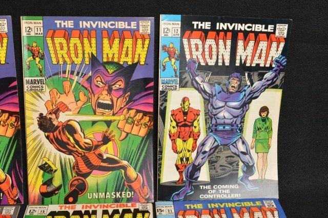 (11) Invincible Iron Man Marvel Comics - 3
