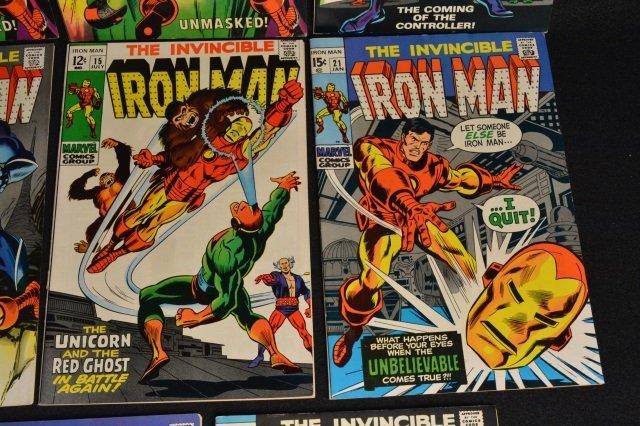 (11) Invincible Iron Man Marvel Comics - 4