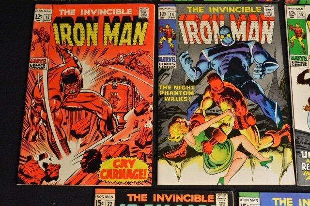 (11) Invincible Iron Man Marvel Comics - 5