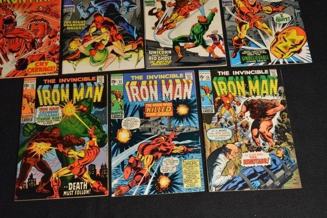 (11) Invincible Iron Man Marvel Comics - 6