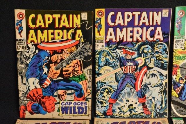 (12) Captain America Marvel Comics - 2