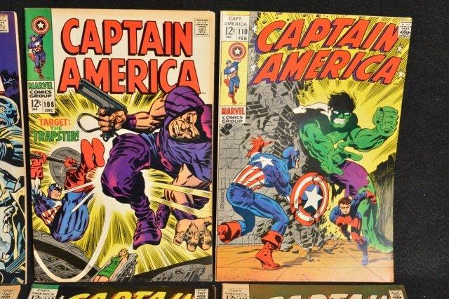 (12) Captain America Marvel Comics - 3