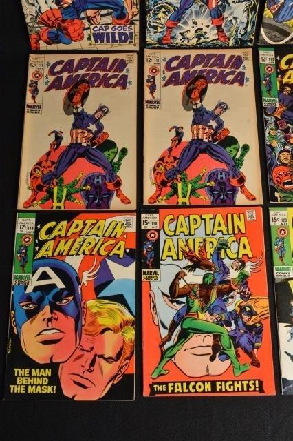 (12) Captain America Marvel Comics - 4