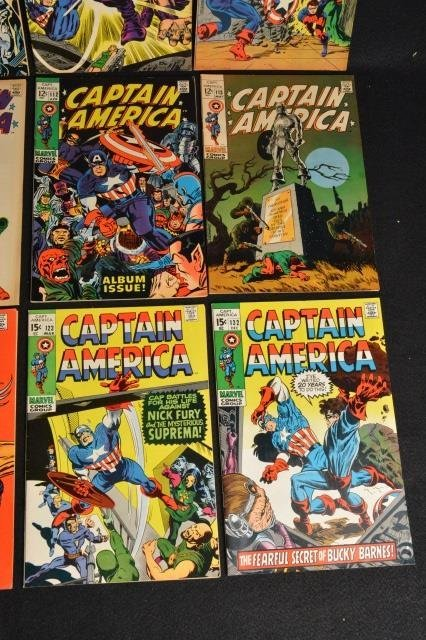 (12) Captain America Marvel Comics - 5