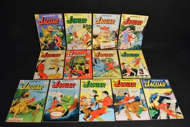 (13) Adventures of The Jaguar Marvel Comics