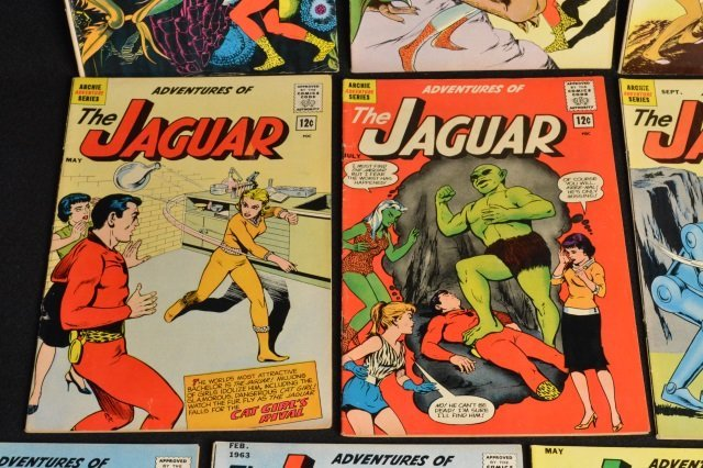 (13) Adventures of The Jaguar Marvel Comics - 4