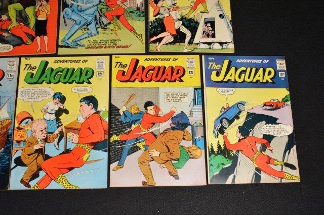 (13) Adventures of The Jaguar Marvel Comics - 7