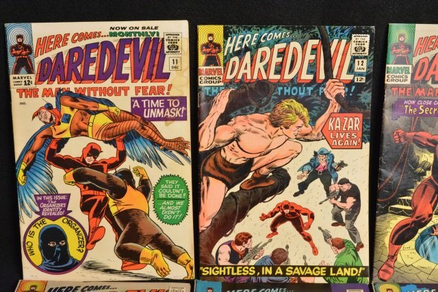 (15) Daredevil Marvel Comics Silver Age - 2