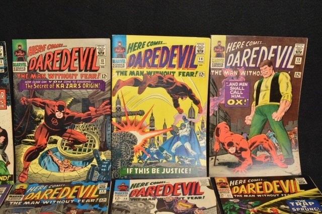 (15) Daredevil Marvel Comics Silver Age - 3