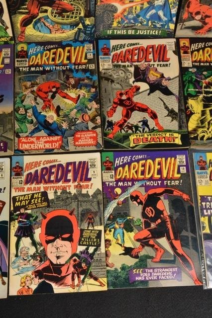 (15) Daredevil Marvel Comics Silver Age - 5