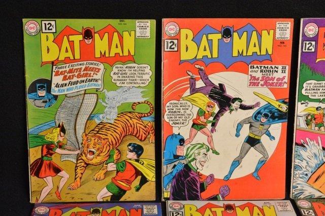 (10) Batman D.C. Comics Silver Age - 2