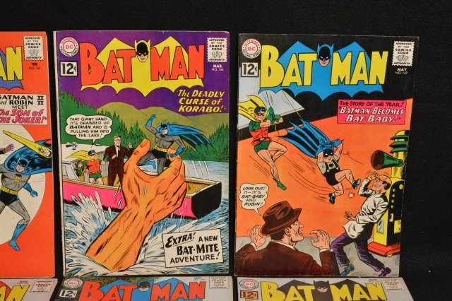 (10) Batman D.C. Comics Silver Age - 3