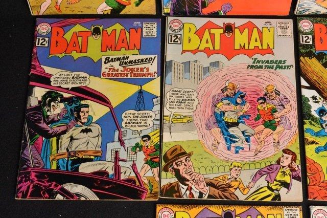 (10) Batman D.C. Comics Silver Age - 4