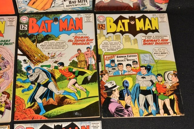 (10) Batman D.C. Comics Silver Age - 5