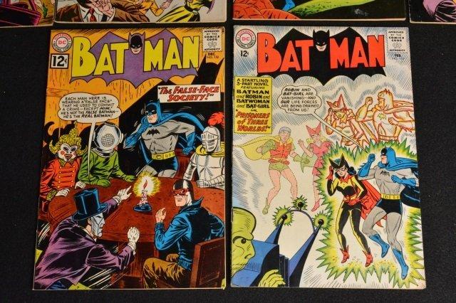 (10) Batman D.C. Comics Silver Age - 6