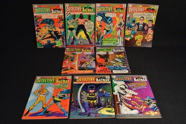(9) Detective Comics DC Comics Silver Age - 6