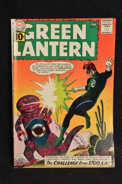 Green Lantern #8 DC Comics Silver Age