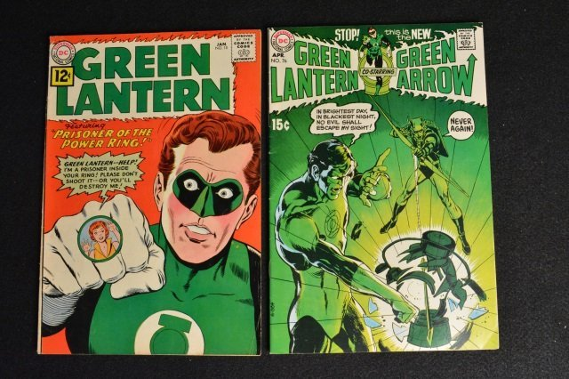 (2) Green Lantern #10 & # 76 DC Comics