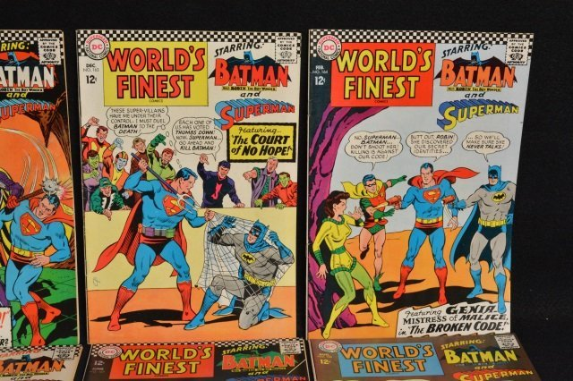 (10) World's Finest D.C. Comics Silver Age - 3