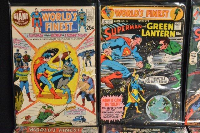 (10) World's Finest DC Comics Silver Age - 2
