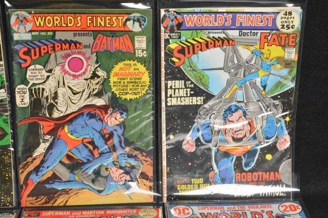 (10) World's Finest DC Comics Silver Age - 3