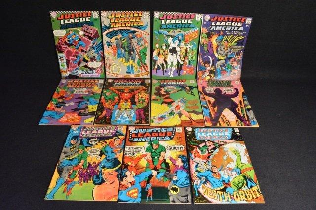 (11) Justice League Of America DC Comics