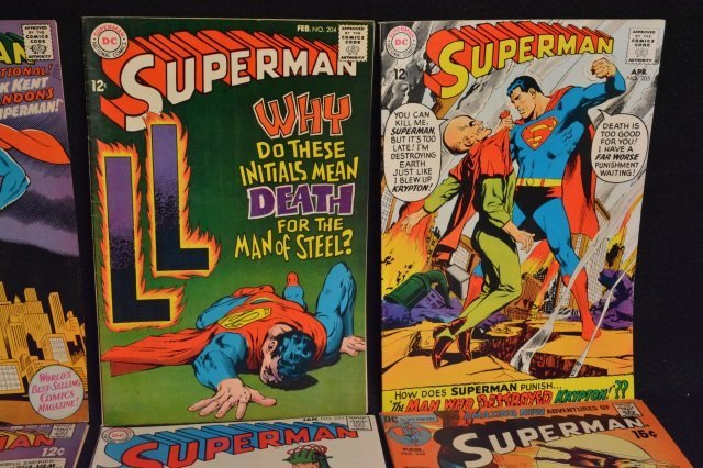 (14) Superman DC Comics Silver & Bronze Age - 3